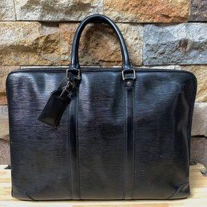 Vintage Louis Vuitton Epi Leather Porte Documents